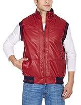 Fort Collins Men's PU Leather Jacket