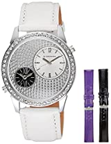 Giordano Analog White Dial women's Watch - 60070-02