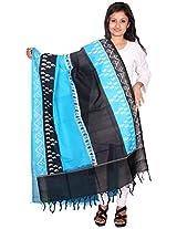 Pochampally Or Ikat Cotton Handloom Dupatta