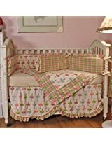 Ballerina 4 Piece Crib Bedding Set