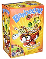 Barbecue Party Game --  Put Food on the BBQ Grill Before it Goes Flying Off