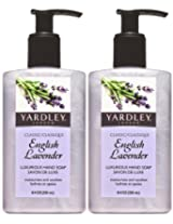 Yardley London English Lavender Hand Soap 8.4 Oz. (Quantity Of 6)
