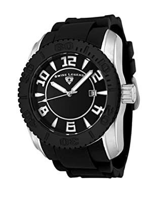 Swiss Legend Reloj Commander Negro