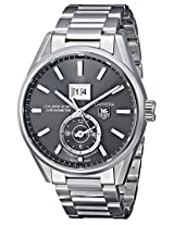 TAG Heuer Men's THWAR5012BA0723 Carrera Analog Display Swiss Automatic Silver Watch