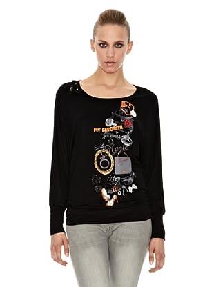 Sidecar Camiseta Maria (Negro)