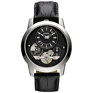 Fossil End of Season Grant Analog Black Dial Men's Watch - ME1113