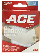 3M Ace Knitted Elbow Support, Medium