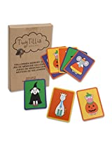 Tiny Tillia Halloween Memory Game Flash Cards