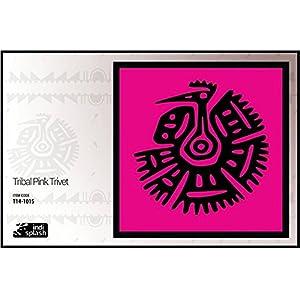 Indispash Tribal Pink Trivet