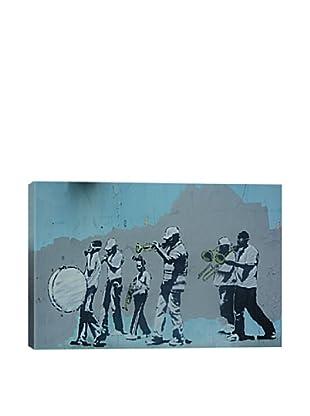 Banksy Musicians Giclée Canvas Print
