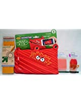 Bundle Back To School Zipit Monstar Red Pencil Pouch