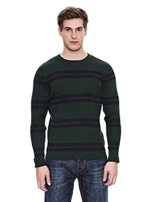 Springfield Jersey S2 Canale Rayas Gg12 (Verde Oscuro / Marino)