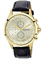 Citizen Analog Champagne Dial Men's Watch - AN3512-03P