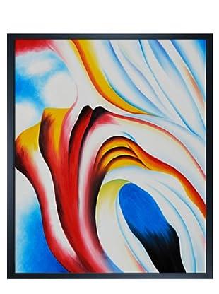 Georgia O'Keeffe: Music Pink and Blue II