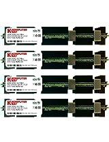 Komputerbay 16GB (4x 4GB) DDR2 PC2-5300F 667MHz CL5 ECC Fully Buffered FB-DIMM (240 PIN) 16 GB w/ Heatspreaders for Apple computers