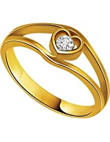 Solitaire Heart Diamond 18K Ring