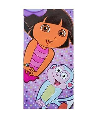Nickelodeon Toalla de Playa Terciopelo Dora la Exploradora (Multicolor)