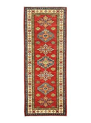 Kalaty One-of-a-Kind Kazak Rug, Red, 2' x 5' 10