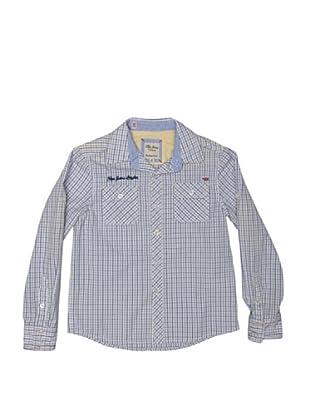 Pepe Jeans London Camisa Peter (Azul / Blanco)