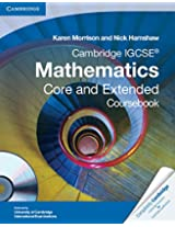 Cambridge IGCSE Mathematics Core and Extended Coursebook with CD-ROM (Cambridge International Examinations)