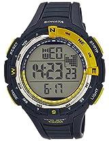 Sonata Digital Grey Dial Men's Watch - 77013PP02