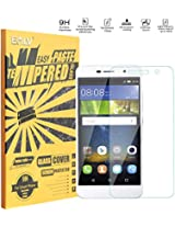 Holly 2 Plus Tempered Glass, Honor Holly 2 Plus Screen guard, E LV Huawei Honor Holly 2 Plus ANTI-SHATTER Tempered Glass Screen Protector Scratch Free Ultra Clear HD Screen Guard for Huawei Honor Holly 2 Plus Only.