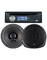 Boss 647CK 240 Watt MP3/CD Receiver/Speaker Package System