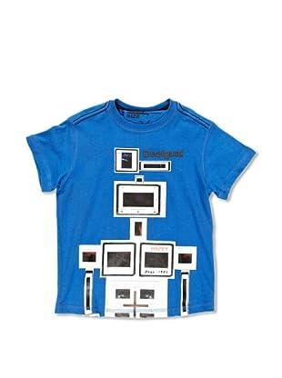 Desigual Camiseta Robot (Royal)