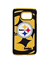 Forever Collectibles - Licensed NFL Cell Phone Case for Samsung Galaxy S6 - Retail Packaging - Pittsburgh Steelers