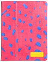 Case-Mate Slim Stand CM020406 Folio Case for Apple iPad 3 (Lipstick Pink/Ocelot)