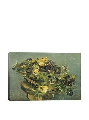 Vincent Van Gogh's Mand Met Viooltjes Giclée Canvas Print