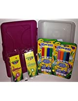 Kids Go Box with Crayola Markers and Crayons! -Girl