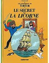 TINTIN PETIT FORMAT 11 SECRET LICORNE (Aventures de Tintin)