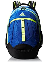 adidas Hickory Backpack Power Blue/Solar Yellow/19 x 14 x 11-Inch AD