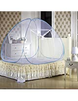 Mebelkart Kawachi Double Bed Size Folding Mosquito Net