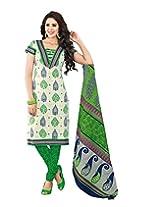 JAVULI pure cotton salwar suit dress material : K-4621