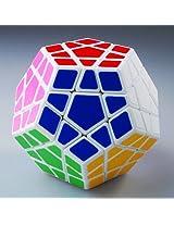 QJ Megaminx Speed Puzzle Cube (White)