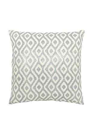 Mela Artisans Capri Pillow (Silver/White)