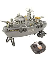 25.5 Radio Control RC Racing Kids Toys Toy Patrol Boat Gift Remote Car -35