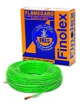 Finolex 1.5-Sqmm Flame Retardant Low Smoke and Halogen Cable (Green)