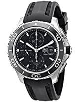 TAG Heuer Men's THCAK2110FT8019 Aquaracer Analog Display Swiss Automatic Black Watch