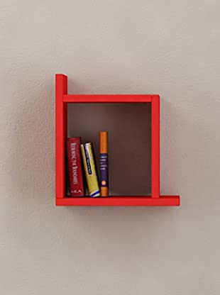 Decortie by Homemania Estante Box (Rojo)