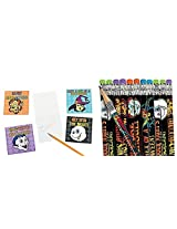 Cool Ghoulz Pencils and Activity Book (48 Pieces) Halloween/Party Supplies