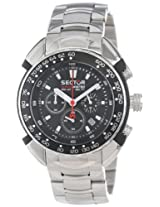 Sector Chronograph Black Dial Men's Watch - R3273678025