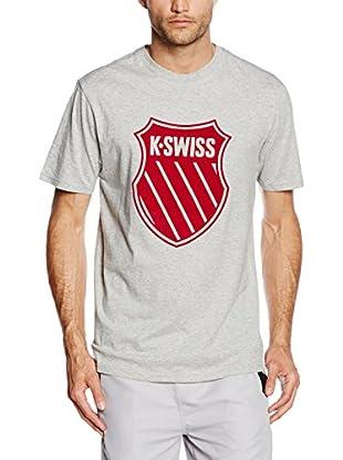 K-Swiss T-Shirt Ks Flocked Lines
