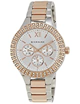 Giordano Chronograph White Dial Women's Watch - A2006-55