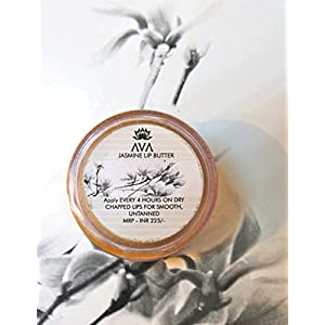 AVA WHITE RAIN LIP BALM - NATURAL SPF 15- NO PETROLEUM JELLY