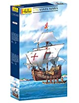 Heller Christopher Columbus Santa Maria Boat Model Building Kit