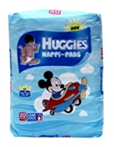 HUGGIES DISPOSABLE NAPPI PADS 10'S