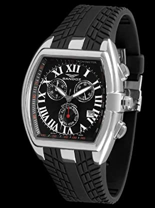 Sandoz 81255-05 - Reloj Fernando Alonso Caballero negro